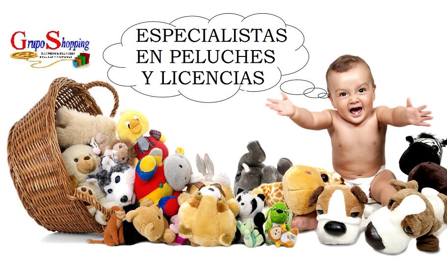 ESPECIALISTAS EN PELUCHES GIGANTES Y LICENCIAS DISNEY