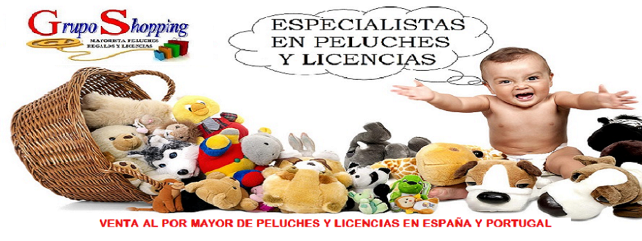 GrupoShopping-Distribuidor de Peluches